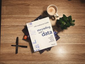 A book recommendation for budding data creatives: Storytelling with Data